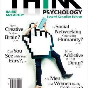 Test Bank for THINK Psychology, Second Canadian Edition 2/E Baird