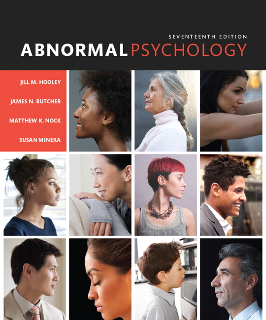 Solution Manual for Abnormal Psychology 17/E Hooley