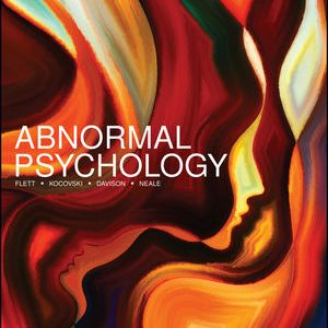 Test Bank for Abnormal Psychology 6th Canadian Edition Flett