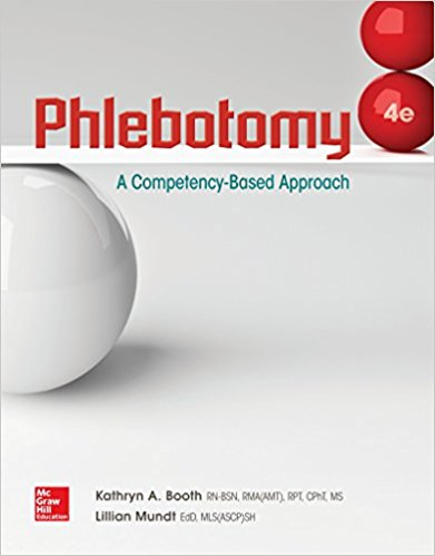 Test Bank for Phlebotomy 4th Edition Booth