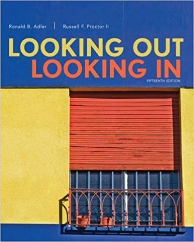 Test Bank for Looking Out Looking In 5th Edition Adler