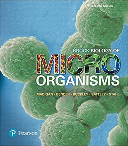 Test Bank for Brock Biology of Microorganisms 15th Edition Madigan