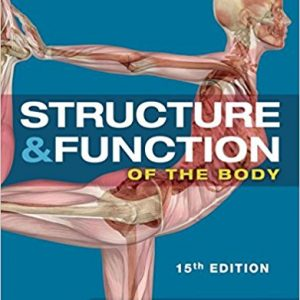 Test Bank for Structure and Function of the Body 15th Edition Patton