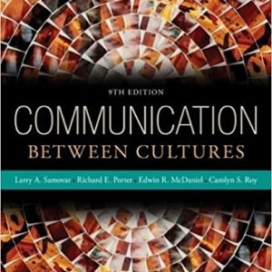 Test Bank for Communication Between Cultures 9th Edition Samovar