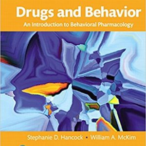 Test Bank for Drugs and Behavior 8th Edition Hancock