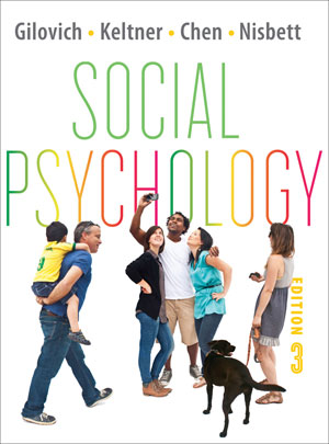 Test Bank for Social Psychology 3rd Edition Tom Gilovich
