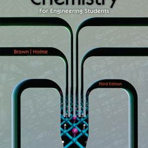 Test Bank for Chemistry for Engineering Students 3rd Edition Brown