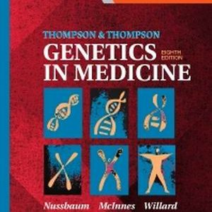 Test Bank for Thompson & Thompson Genetics in Medicine 8th Edition Nussbaum