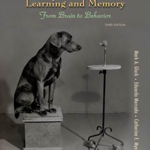 Test Bank for Learning and Memory 3rd Edition Gluck