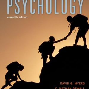 Test Bank for Psychology 11th Edition Myers