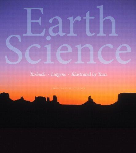 Solution Manual for Earth Science 14th Edition Tarbuck
