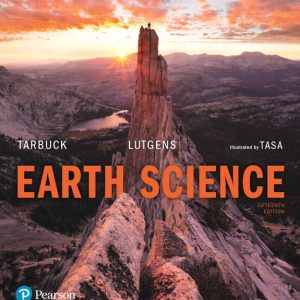 Solution Manual for Earth Science 15th Edition Tarbuck