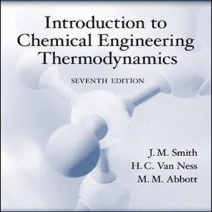 Solution Manual for Introduction to Chemical Engineering Thermodynamics 7th Edition Smith