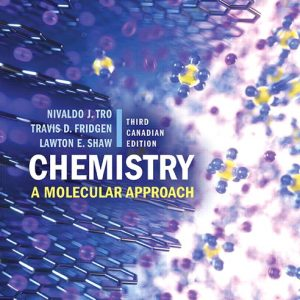 Solution Manual for Chemistry: A Molecular Approach 3rd Canadian Edition Tro