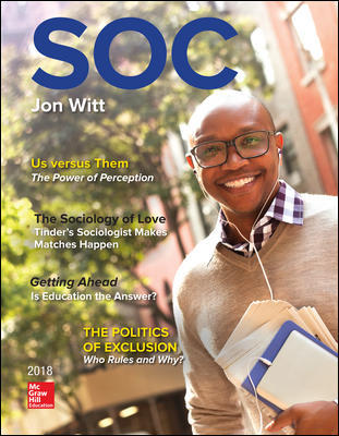 Solution Manual for SOC 2018 5th Edition View Latest Edition Witt
