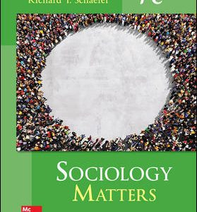 Test Bank for Sociology Matters 7th Edition Schaefer