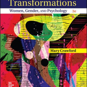 Test Bank for Transformations: Women Gender and Psychology 3rd Edition Crawford