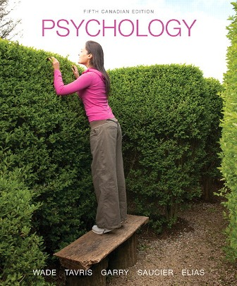 Solution Manual for Psychology 5th Canadian Edition Wade