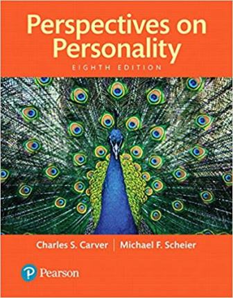 Test Bank for Perspectives on Personality 8th Edition Carver