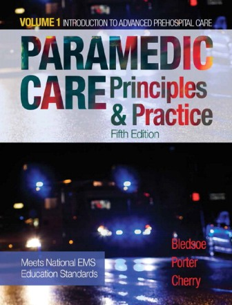 Test Bank for Paramedic Care: Principles and Practice Volume 1 5th Edition Bledsoe