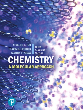 Test Bank for Chemistry: A Molecular Approach 3rd Canadian Edition Tro