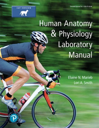 Test Bank for Human Anatomy and Physiology Laboratory Manual Cat version 13th Edition Marieb