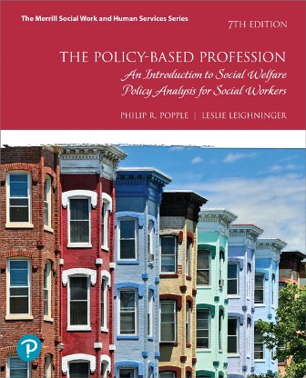 Test Bank for Policy-Based Profession The An Introduction to Social Welfare Policy Analysis for Social Workers 7th Edition Popple