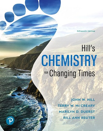 Solution Manual for Chemistry for Changing Times 15th Edition Hill
