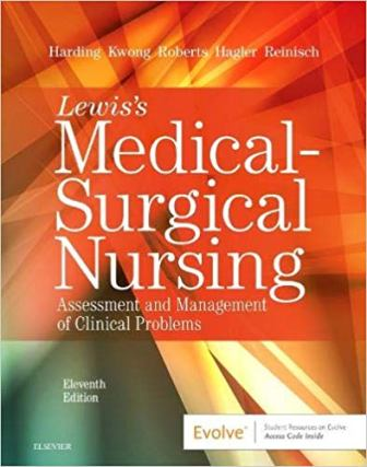 Test Bank for Medical-Surgical Nursing 11th Edition Harding