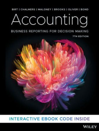 Test Bank for Accounting: Business Reporting for Decision Making 7th Edition Birt