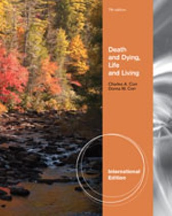 Test Bank for Death and Dying Life and Living 7th Edition Corr