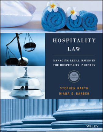 Solution Manual for Hospitality Law 5th Edition Barth