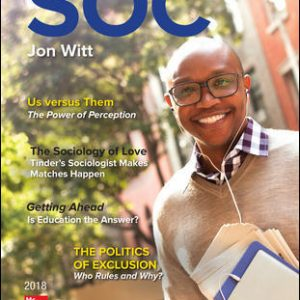 Test Bank for SOC 2018 5th Edition Witt