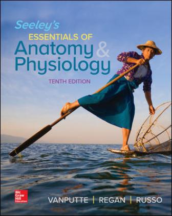 Test Bank for Seeley's Essentials of Anatomy and Physiology 10th Edition VanPutte