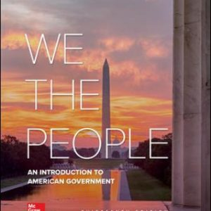 Test Bank for We The People 13th Edition Patterson