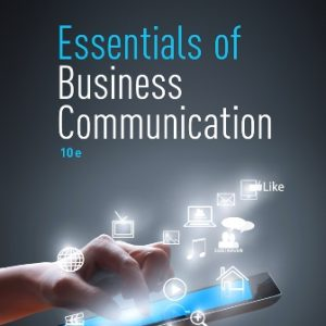Test Bank for Essentials of Business Communication 10th Edition Guffey