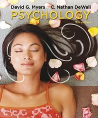 Test Bank for Psychology 12th Edition Myers