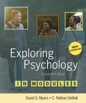 Test Bank for Exploring Psychology in Modules 11th Edition Myers