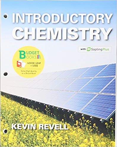 Solution Manual for Introductory Chemistry & SaplingPlus for Introductory Chemistry Unbnd/Psc Edition Revell