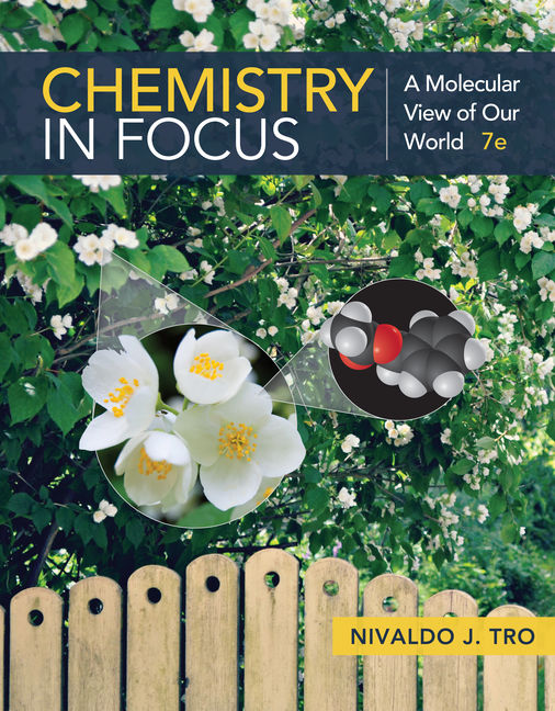 Test Bank for Chemistry in Focus: A Molecular View of Our World 7th Edition Tro