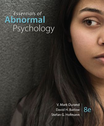 Test Bank for Essentials of Abnormal Psychology 8th Edition Durand