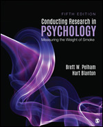 Solution Manual for Conducting Research in Psychology Measuring the Weight of Smoke 5th Edition Pelham