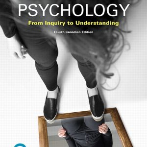 Solution Manual for Psychology: From Inquiry to Understanding Canadian Edition 4th Edition Lilienfeld