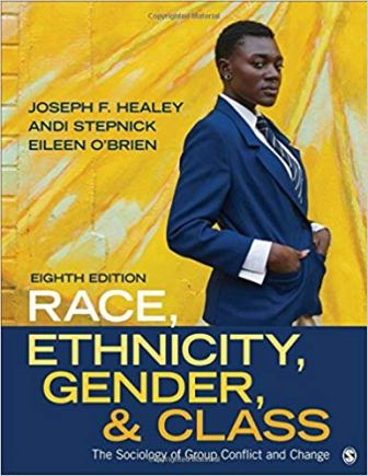 Test Bank for Race Ethnicity Gender and Class The Sociology of Group Conflict and Change 8th Edition Healey