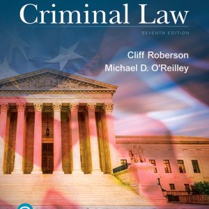 Test Bank for Principles of Criminal Law 7th Edition Roberson