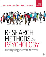 Test Bank for Research Methods in Psychology Investigating Human Behavior 3rd Edition Nestor