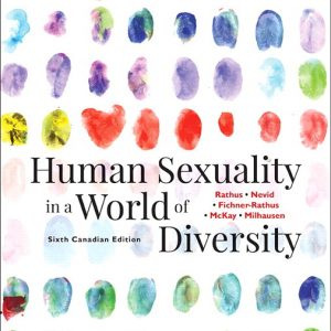 Test Bank for Revel for Human Sexuality in a World of Diversity 6th Canadian Edition Rathus