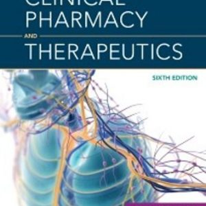 Test Bank for Clinical Pharmacy and Therapeutics 6th Edition Whittlesea