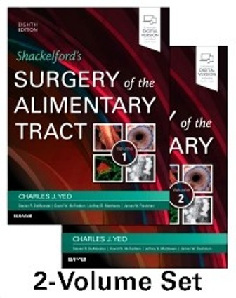 Test Bank for Shackelford's Surgery of the Alimentary Tract 2 Volume Set 8th Edition Yeo
