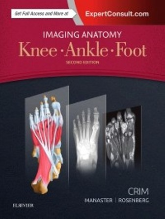 Test Bank for Imaging Anatomy Knee Ankle Foot 2nd Edition Crim